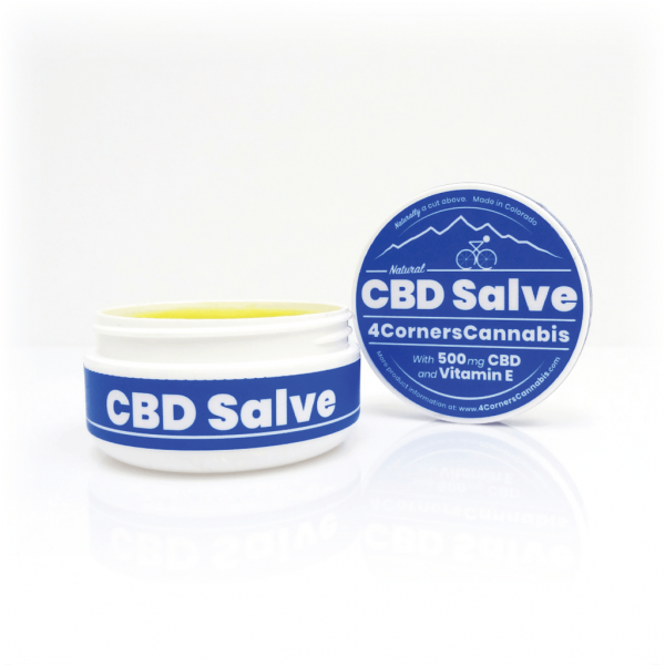 4 Corners Cannabis CBD Salve 500mg