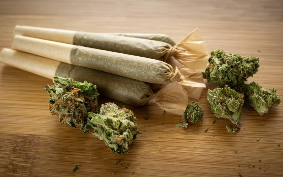 Pre rolled joints and flower